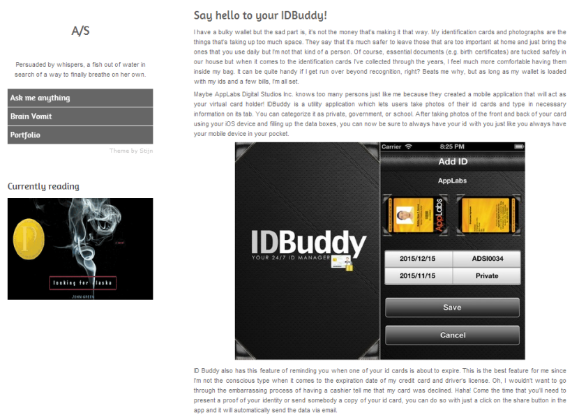 Ara Santiago reviews IDBuddy